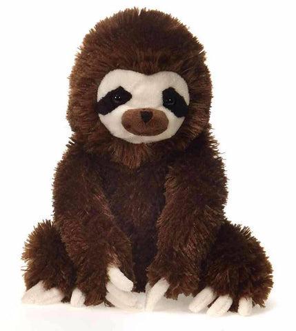"Lil' Buddies Sloth Medium Stuffed Animal -  9"" - Fiesta"