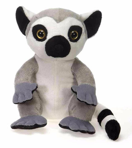 "Lil' Buddies Lemur Medium Stuffed Animal -  9"" - Fiesta"