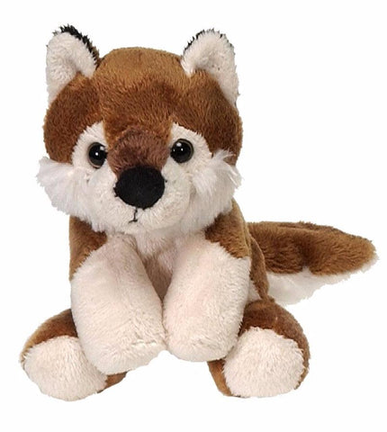 "Lil' Buddies Red Wolf Stuffed Animal Beanbag - 5"" - Fiesta"