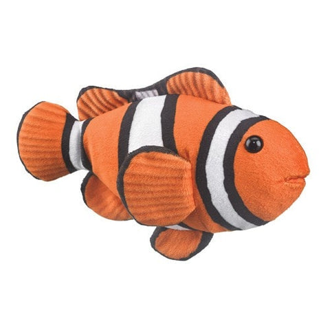 "Clown Fish Stuffed Animal - 9"" - Wildlife Artists"