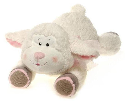 "Easter Lamb Plush Stuffed Animal - 16"" - Fiesta"