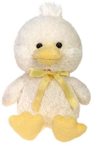 "Cuddle Frosty Cream Colored Easter Duck Stuffed Animal - 13"" - Fiesta"