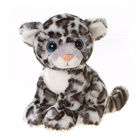 "Big Eyes Styx the Sitting Snow Leopard - 9"" - Fiesta"