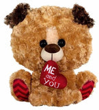 "Valentine's Day Dog with Me and You Heart - 11"" - Fiesta"