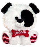 "Valentine's Day White Dog with Smooch Bone - 11"" - Fiesta"