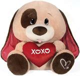 "Jumbo XOXO Heart Valentine's Day Dog - 25"" - Fiesta"