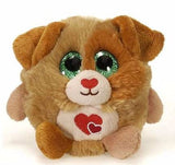 "Lubby Cubbies Valentine's Day Dog - 4"" - Fiesta"