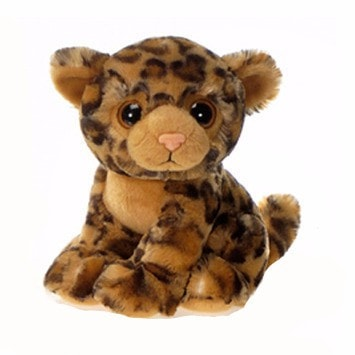 "Big Eyes Lycon the Sitting Leopard - 9"" - Fiesta"