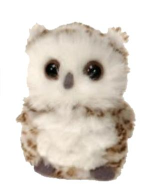 "Mini Owl Stuffed Animal - 4.5"" - Fiesta"