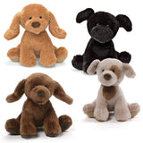 "Animal Chatter Barking Puppy Dogs - 4.5"" - Gund Kids - Plush Friends"