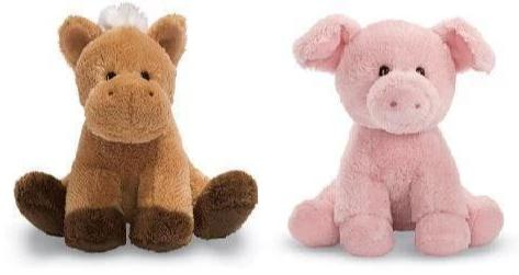 "Animal Chatter Farm Animals with Sound - 4.5"" - Gund Kids - Plush Friends"