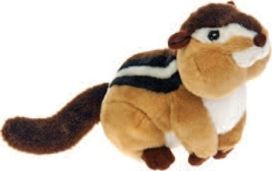 "Bean Bag Chipmunk Stuffed Animal - 6"" - Fiesta - Plush Friends"