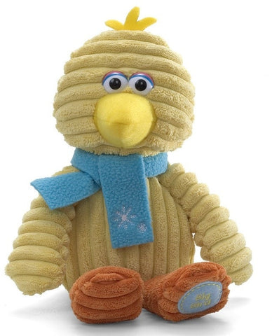 "Big Bird Holiday Corduroy Sesame Street Plush - 11"" - Gund - Plush Friends"