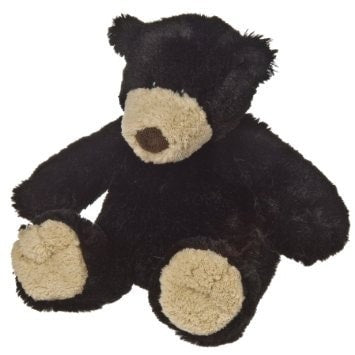 "Black Bear Teddy Bear - 13"" - Mary Meyer - Plush Friends"