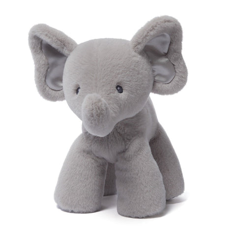 "Bubbles the Gray Elephant Medium - 10"" - Baby Gund - Plush Friends"