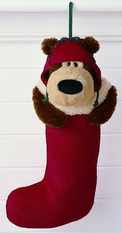 "Cozy Holiday Living Goober Christmas Stocking - 19"" - Gund - Plush Friends"