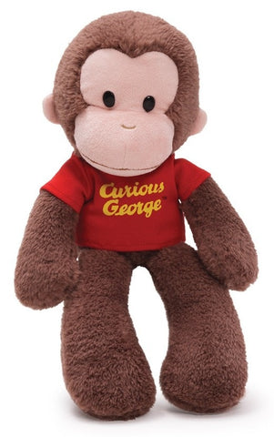 "Curious George the Monkey Take Along Buddy - 15"" - Gund - Plush Friends"