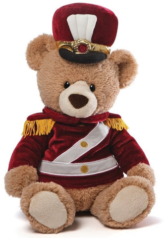 "Drilly the Toy Soldier Teddy Bear - 14.5"" - Gund - Plush Friends"