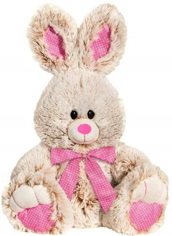 "Easter Bunny with Pink Polka Dot Accents - 15"" - Fiesta"
