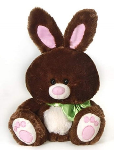 "Easter Bunny Rabbit Dark Brown - 14"" - Fiesta"