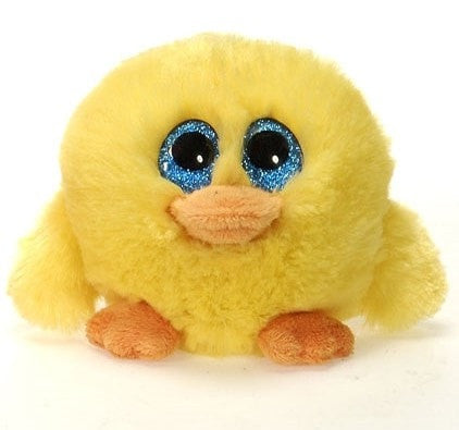 "Lubby Cubbies Easter Yellow Duck - 4"" - Fiesta"