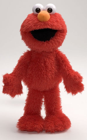 "Sesame Street Elmo Plush Doll - 14"" - Gund - Plush Friends"