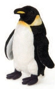 "Stuffed Emperor Penguin Plush Small - 8"" - Fiesta - Plush Friends"