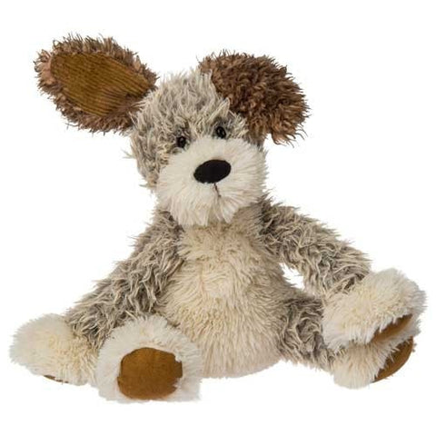 "FabFuzz Scruffy Plush Puppy Dog - 13"" - Mary Meyer - Plush Friends"