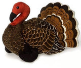 "Brown Turkey Stuffed Animal - 9"" - Fiesta"
