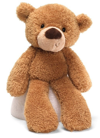 "Gund Fuzzy Beige Teddy Bear - 15"" - Gund - Plush Friends"