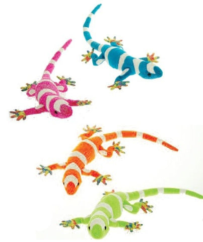 "Glittered Gecko - 14"" - Fiesta - Plush Friends"
