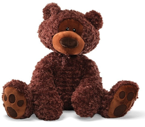 "Gund Philbin Jumbo Chocolate Brown Teddy Bear - 28"" - Gund - Plush Friends"