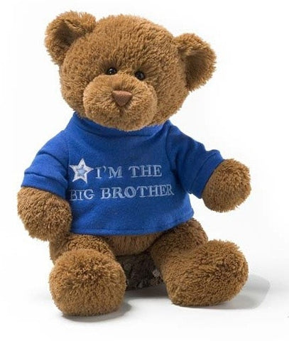"I'm The Big Brother Teddy Bear - 12"" - Gund - Plush Friends"
