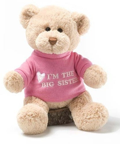 "I'm The Big Sister Teddy Bear - 12"" - Gund - Plush Friends"