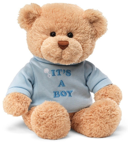 "It's A Boy Teddy Bear - 12"" - Gund - Plush Friends"
