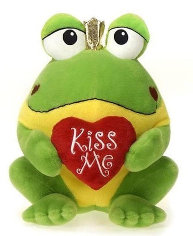 "Kiss Me the Valentine's Day Frog Prince - 10"" - Fiesta - Plush Friends"