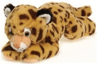 "Laydown Cheetah Stuffed Animal Medium - 12"" - Fiesta - Plush Friends"