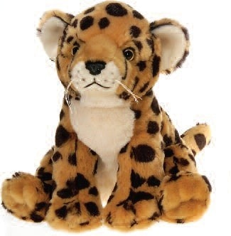 "Lazybeans Bean Bag Cheetah Plush - 10"" - Fiesta - Plush Friends"