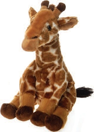 "Lazybeans Bean Bag Giraffe Stuffed Animal - 11"" - Fiesta - Plush Friends"