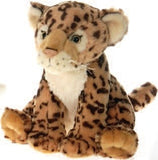 "Lazybeans Bean Bag Leopard Stuffed Animal - 10"" - Fiesta - Plush Friends"