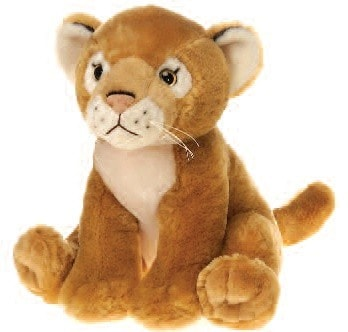 "Lazybeans Bean Bag Lioness - 10"" - Fiesta - Plush Friends"