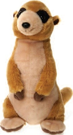"Lazybeans Bean Bag Meerkat Stuffed Animal - 12"" - Fiesta - Plush Friends"