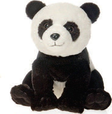 "Lazybeans Bean Bag Panda Stuffed Animal - 10"" - Fiesta - Plush Friends"