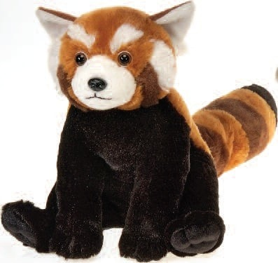 "Lazybeans Bean Bag Red Panda Stuffed Animal - 10"" - Fiesta - Plush Friends"
