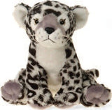 "Lazybeans Bean Bag Snow Leopard Stuffed Animal - 10"" - Fiesta - Plush Friends"