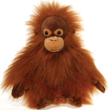 "Lazybeans Orangutan- 10"" - Fiesta - Plush Friends"