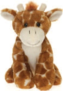 "Lil' Buddies Gregory the Stuffed Animal Giraffe - 6"" - Fiesta - Plush Friends"