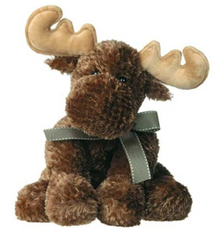 "Lil' Miles Moose Plush Toy - 11"" - Mary Meyer - Plush Friends"