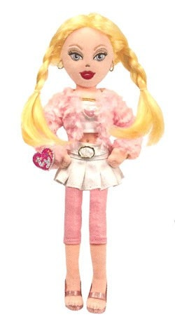 "Lovely Lola Plush Doll Toy - 14"" - Ty Girlz - Plush Friends"