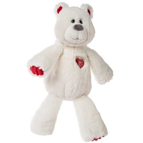 "Marshmallow Zoo Heartthrob Teddy Bear - 14"" - Mary Meyer - Plush Friends"